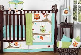 Sweet Jojo Designs Space Galaxy 11pc Crib Bedding Set Blue Sweet Jojo Designs 11 Piece Turquoise And Lime Hooty Owl Unisex Baby Boy Or Girl Bedding Crib