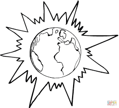 Small Picture planet earth coloring page printable Archives coloring page