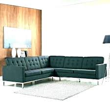 mesa mid century morn home couch coffee table modern leather sectional brown black green mid century modern leather sectional