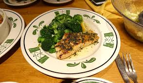 1 photo of the herb grilled salmon at olive garden italian restaurant