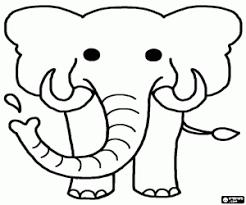 Kleurplaten Olifanten Kleurplaat
