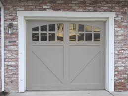 Painted Wood Garage Door Paint Grade Carriage Halfbuck In For Design Decorating