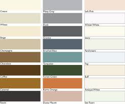 Grout Chart Grout Colors