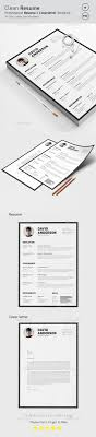 Cascade One Page Resume Template - Resumes Stationery | Continuing ...