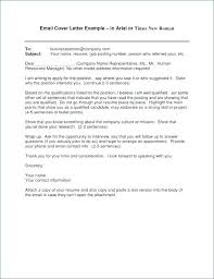 Resume Submission Email Emailed Cover Letter Format Resume