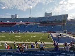 Ralph Wilson Stadium Seating Chart View New Era Field Section 108 Rateyourseats Com