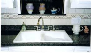 vintage porcelain kitchen sink for sale white with drainboard nice
