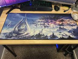 screenshot just received my new mousepad time to floor tank in style