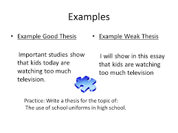 another part to an effective essay ppt video online  4 examples example good thesis