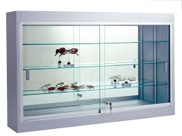 36 w wall mount display case premium