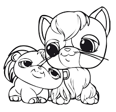 Small Picture Cute Dog Littlest Pet Shop Coloring Pages littlest pet shop