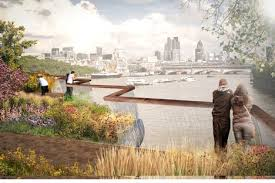Small Picture Thomas Heatherwick reveals garden bridge designed for River Thames