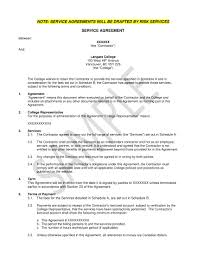 Example Of An Agreement 005 Service Agreement Contract Template Example Ideas For