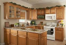 cheap kitchen cupboard: country oak rta kitchen endearing cheap kitchen cabinets