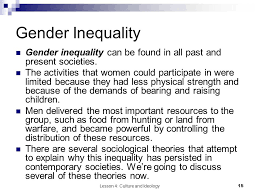 gender inequality essays co gender inequality essays