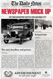 Creative Newspaper Template Photoshop Newspaper Template All Niches Welcome Group