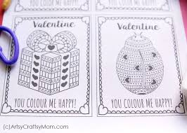 / 9+ free printable valentine cards. Free Printable Coloring Cards For Valentine S Day