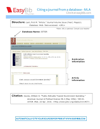 Mla Format Online Mla Format Generator Bsaconcordia Com