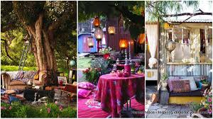 garden designs. 34 Colorful Bohemian Garden Designs To Embrace