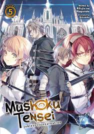 Mushoku Tensei Light Novel Download Mushoku Tensei Jobless Reincarnation Light Novel Vol 5