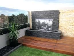 modern wall water fountains gardener outdoor fountain waterfa