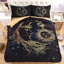 boho twin bedding whole lightweight sun moon and stars bedding set duvet cover set twin queen boho twin bedding