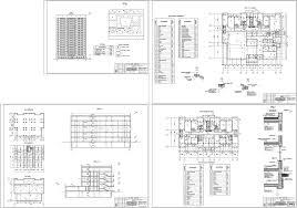Курсовые и дипломные проекты Многоэтажные жилые дома скачать  Курсовой проект 17 ти этажный односекционный 115 ти квартирный жилой дом с пристроенным