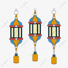 Eid Al Adha Ornaments Ornaments Vector Sky Lantern Hang Lamp Png