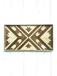 chevron wood wall art reclaimed decor maple leaf by rustic and metal pink canvas chevron wood wall art