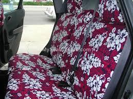2016 honda fit rear kauai hawaiian print seat covers