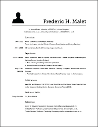 What Should A Resume Look Like Classy How Is A Resume Supposed To Look Like 60 Ifest