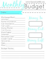 free family budget worksheet monthly budget spreadsheet budget sheet excel free personal monthly