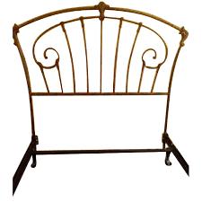 Sleepy's Wrought Iron Full Size Bed Frame w/ Headboard - AptDeco