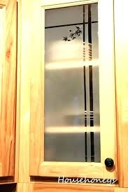 making cabinet doors with glass inserts installing glass in cabinet glass front cabinet doors diy diy