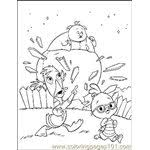 Small Picture Chicken Little Is Reading A Book Coloring Page Free Chicken