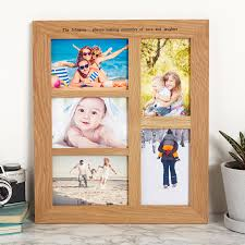 wooden collage photo frames uk picture frame ideas