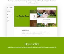 Small Picture Garden Design WordPress Template