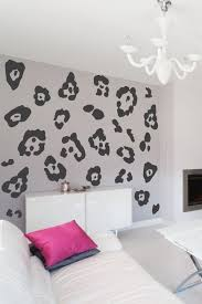 leopard print wall decal walltat com