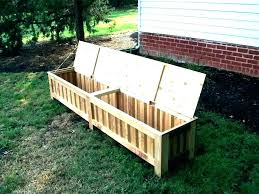 outdoor build storage box diy ideas bench seats with chair seat