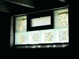 glass block basement windows cost glass block windows cost glass block basement window medium size of