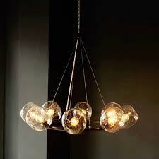 eclipse chandelier from west elm
