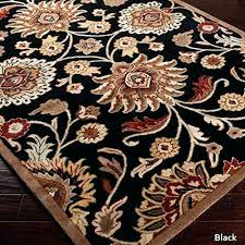 paisley area rug 4 x 6 black hand tufted paisley fl wool color area rug flower paisley area rug