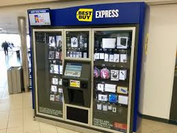 Buy Vending Machine Mesmerizing Best Buy Kiosks Electronic Vending Machines Surprisingly Effective