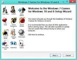 clic windows 7 games in windows 8