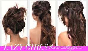 Pretty Girl Hair Style 4 easy lazy girls backtoschool hairstyles cute hairstyle 5015 by wearticles.com