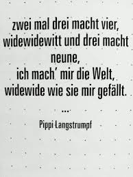 Pippi Langstrumpf German Sayings Sprüche Zitate Pippi