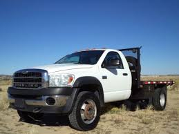 Sell used 2008 Dodge Ram 5500 Sterling Bullet 4X4 Flat Bed Cummins ...