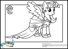 Small Picture My Little Pony Twilight Sparkle Coloring Pages Get Coloring Pages