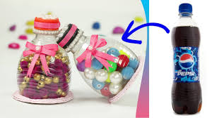 Plastic Bottle Recycling Plastic Bottle Craft Recycling Ideas How To Make Container With