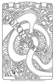 Psalms Coloring Pages 85x11 Illustrated Childrens Ministry